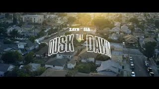 Dusk Till Dawn - Zayn ft. Sia ( video lyrics )