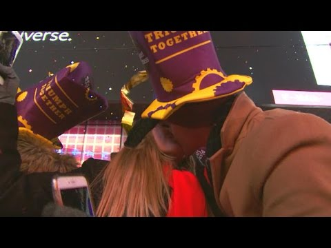 Watch: 2017 ball drop in Times Square