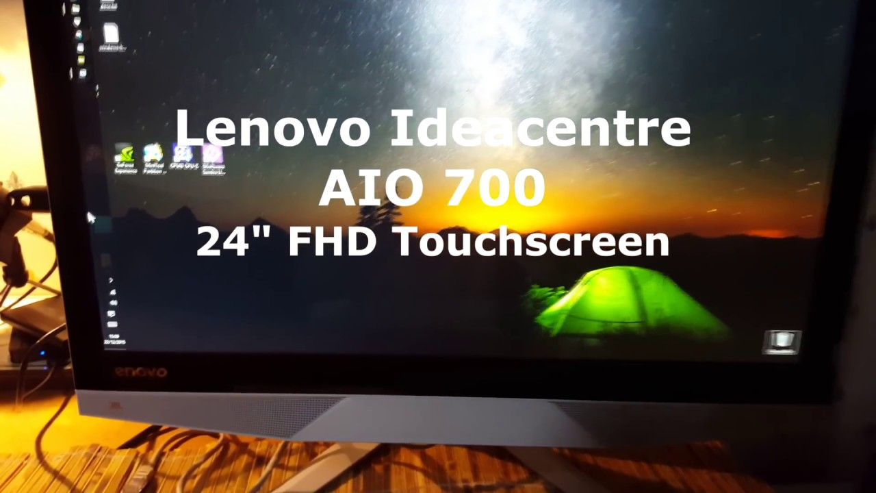 Lenovo Ideacentre Aio 700 All In One Pc Touchscreen Intel I7 Computer Nvidia You