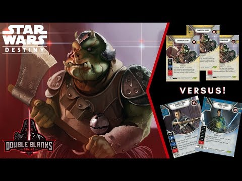 Star Wars: Destiny EaW- Episode 13-  Gamorrean Guard x 3 vrs
