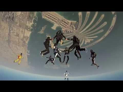 Skydive Dubai Winter Festival 2012 - 2013 - Day 2