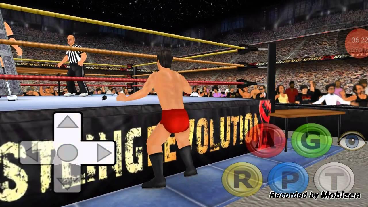 Wrestling revolution 3d mobile 3 win or lose youtube