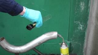 Эксперимент - Моторное масло САМОВОСПЛАМЕНЯЕТСЯ И ГОРИТ