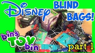 Disney World Blind Bags Opening Pt. 1 - Collector Packs & Mystery Pins! by Bin