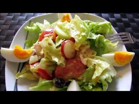 Салат как в европейском ресторане