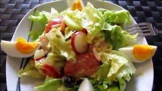 О еде ♥  Салат как в европейском ресторане