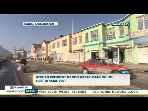 Afghan president to visit Kazakhstan on his first official visit - Kazakh TV
