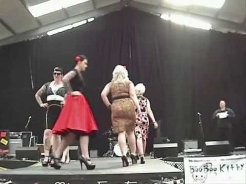 Miss Fortune retro fashion show at Americana International 2012 - FULL 30 MIN SHOW