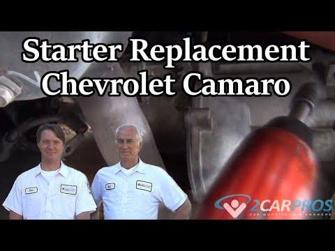 Starter Replacement Chevrolet Camaro 1995-2002 - YouTube
