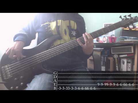 Nu Metals week  03  POD  Sleeping Awake Bass  + Tab