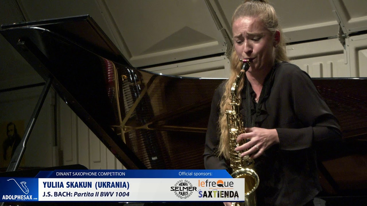 Yuliia Skakun (Ukraine) - Partita II BWV1004 by J.S.Bach (Dinant 2019)