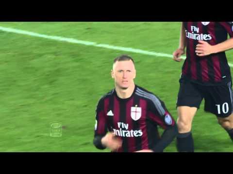 Il gol di Abate - Frosinone - Milan 2-4 - Giornata 17 - Serie A TIM 2015/16