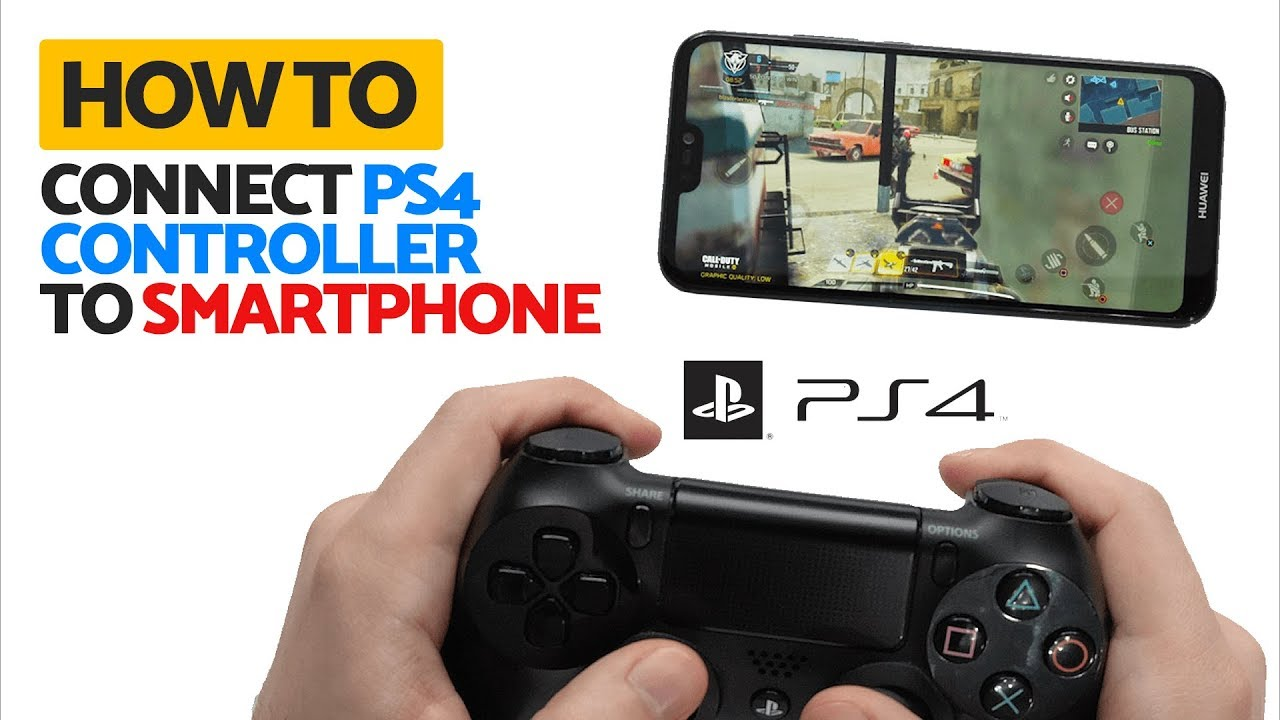 How to Connect PS4 Controller to Android Phone - YouTube