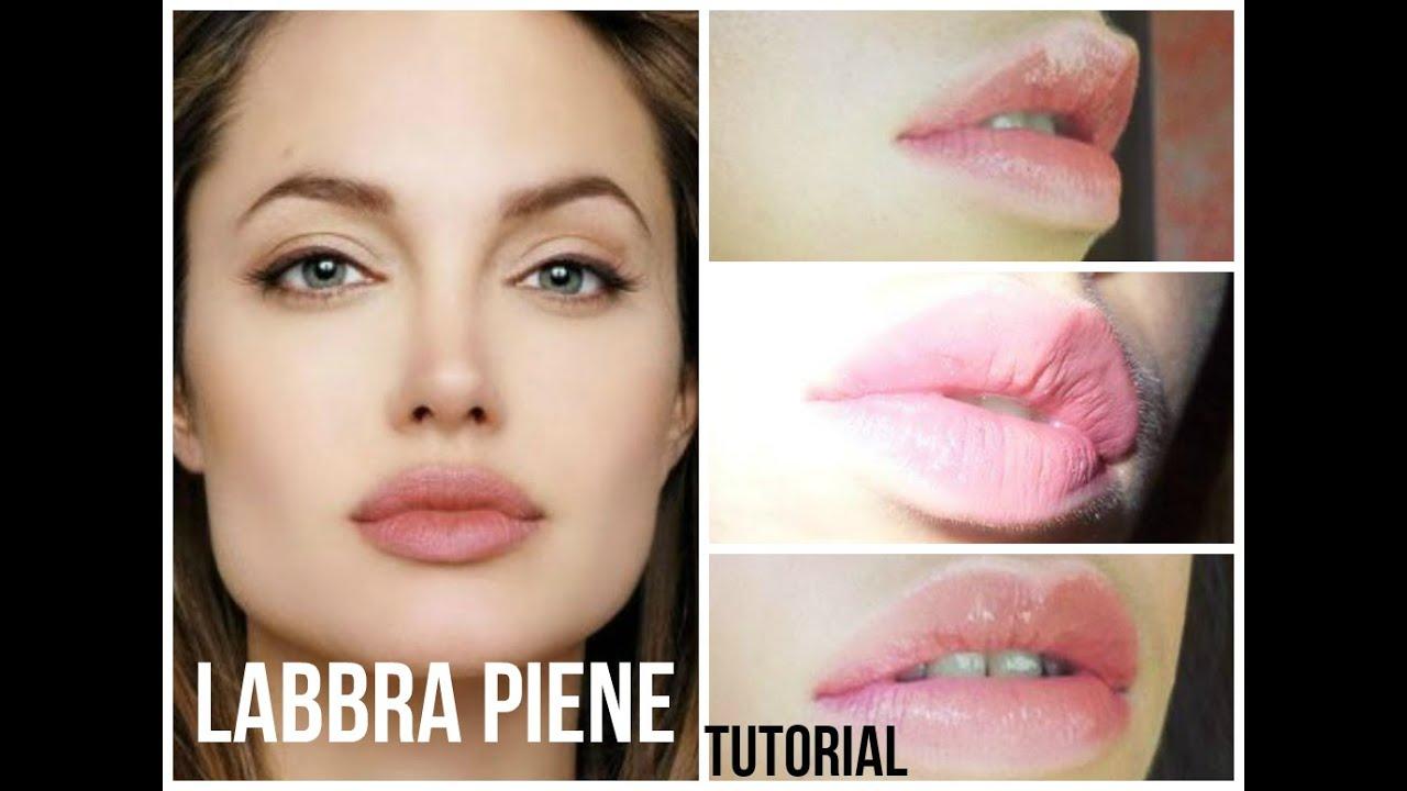Ben noto LABBRA più VOLUMINOSE, PIENE e CARNOSE come Angelina Jolie in  FH76