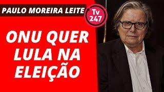 Baixar ONU quer Lula na eleição