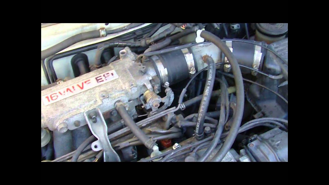 91 94 tercel 3ee to 5e fe engine swap toyota upgrade [ 1280 x 720 Pixel ]