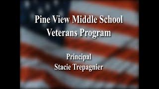 Pine View Middle School Veterans Day Program