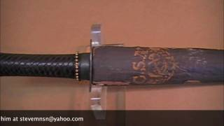 Confederate Naval Sword - Civil War