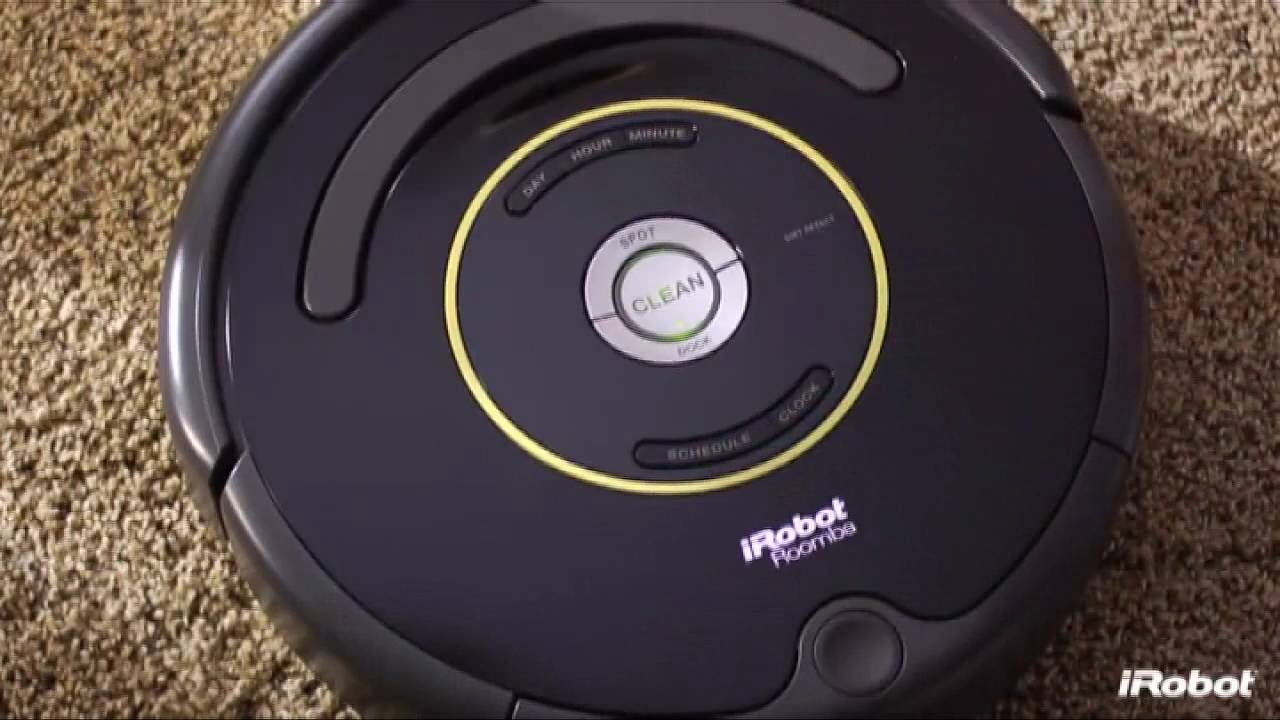 irobot roomba 650 robot aspirateur autonome youtube. Black Bedroom Furniture Sets. Home Design Ideas