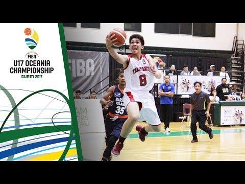 Tahiti v Marshall Islands - Full Game - FIBA U17 Oceania Championship 2017