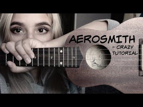 Tutorial Ukulele - Aerosmith - Crazy / Ukelele - YouTube