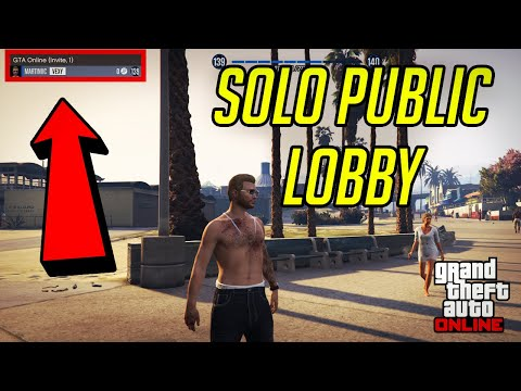 GTA 5 Online - How to Get Into Solo Public Lobby (PS4/XBOX/PC) *EASY* 2019