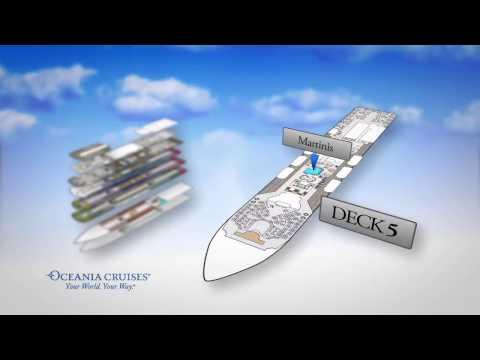 Oceania Cruises Regatta - Ship Tour / Sunway Travel Group