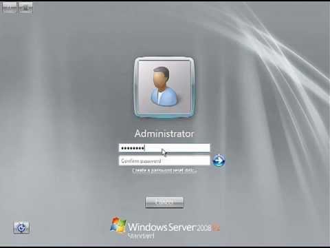 Windows Server 2008r2 Standard Full Install