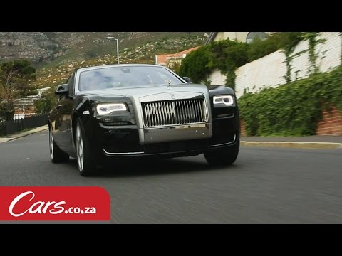 2015 Rolls Royce Ghost Series 2 – Driven and Reviewed in South Africa