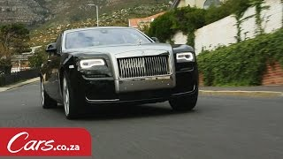 2015 Rolls Royce Ghost Series 2 - Driven and Reviewed in South Africa