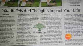 Learn English- Times of India Newspaper article