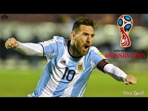 Lionel Messi ●Road to RUSSIA 2018 World Cup●Goals and Skills for Argentina 2017 |HD|