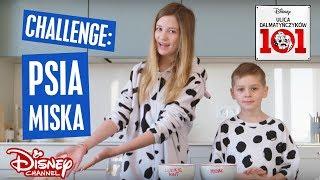 Cookie Mint w Disney Channel | Challenge: Psia miska | Ulica Dalmatyńczyków 101