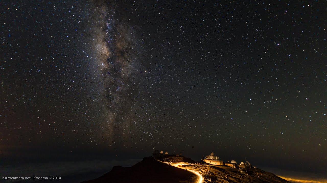 Milky way over the house of the sun haleakala maui for The sunhouse