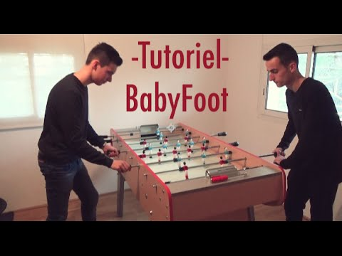 baby foot tuto