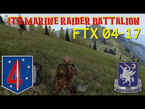 4th Marine Raider Battalion, FTX 04-17 Pt 1