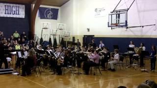 """8th Grade VVJH """"Fanfare for the Unsung Hero"""""""