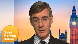 Jacob Rees Mogg Defends Controversial Cricket World Cup Joke  Good Morning Britain