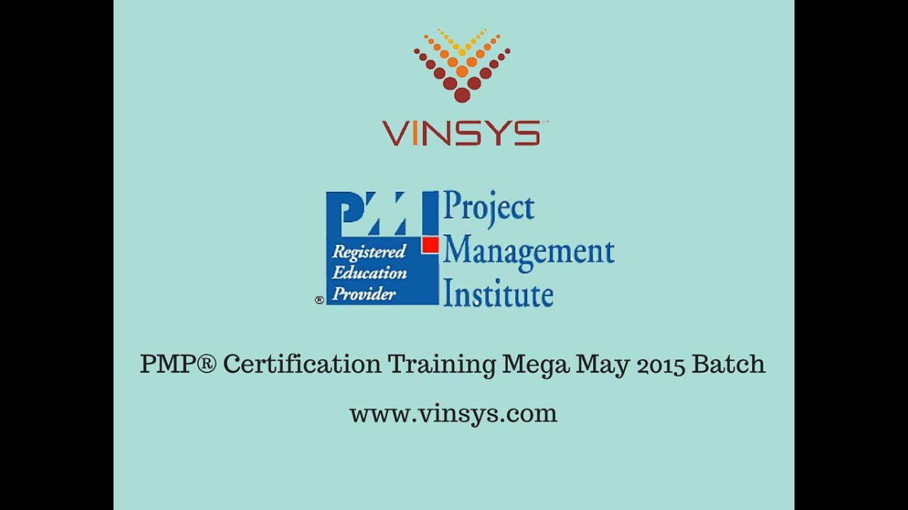 Pmp Certification Training Pune Mumbai Bangalore Hyderabad
