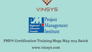 PMP® Certification Training | Pune  | Mumbai | Bangalore | Hyderabad | Noida