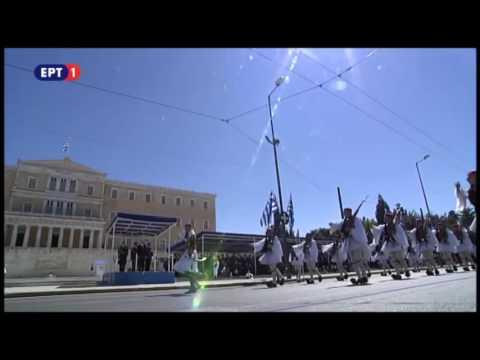 newsbomb.gr: Παρέλαση ευζώνων στην Αθήνα