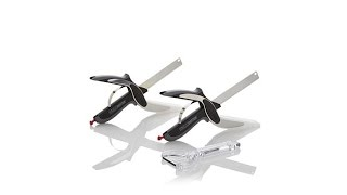 Clever Cutter Deluxe Set of 2 Chopper and Slicer