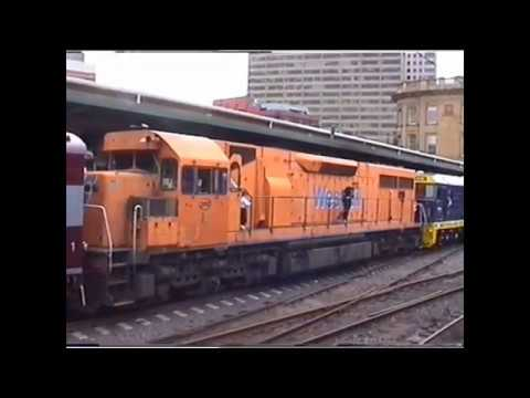 Commonwealth Engineering  Built Locomotives at Central Station