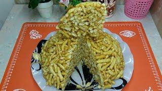 чАК-ЧАК СУПЕР РЕЦЕПТ! Восточная сладостьНа праздничный стол!Chak-Chak tayorlash