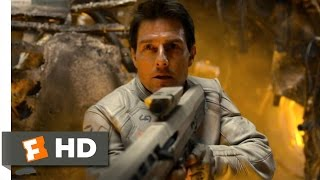 Oblivion (2/10) Movie CLIP - They're Firing on Survivors (2013) HD