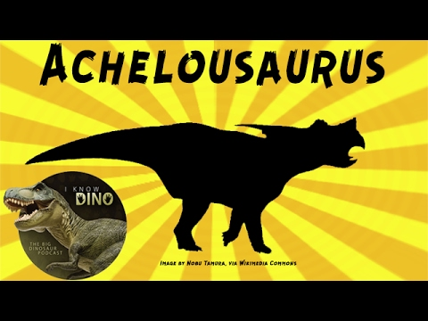 Achelousaurus: Dinosaur of the Day