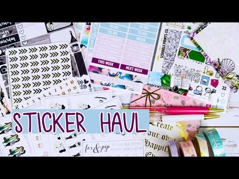 Sticker Haul // My Newest Addiction, Fox & Pip and More!