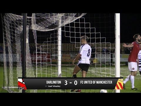 Darlington 3-0 FC United of Manchester - Vanarama National League North - 2017/18
