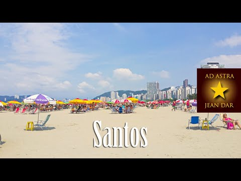 Santos, São Paulo, Brazil | Read What To Do / Lee Qué Hacer. HD