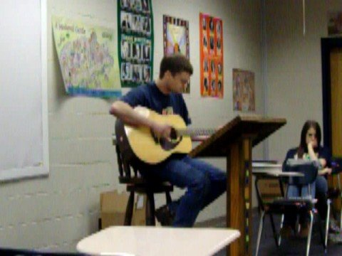 Cody Whaley singing Alyssa Lies